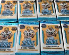 New 2018 Score Football 6 Card / Pack NFL 11 Packs Lot 66 Cards per Lot MT Fresh