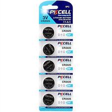5x CR2025 DL2025 ECR2025 3V Lithium Coin Cell Batteries BEST VALUE 5 PACK
