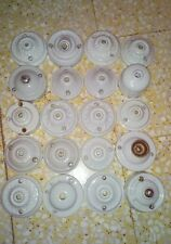 1 rosace de plafonnier ou applique en porcelaine pour monte et baisse au choix