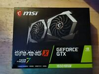 Nvidia GeForce GTX MSI 1650 Super Gaming X 4GB GDRR6 GPU PC Desktop