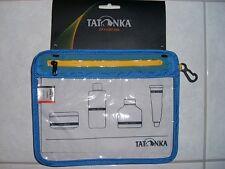 Tatonka Zip Flight Bag transparente Tasche Handgepäck Kulturbeutel