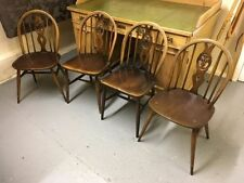 Ercol Traditional Chairs with 4 Pieces