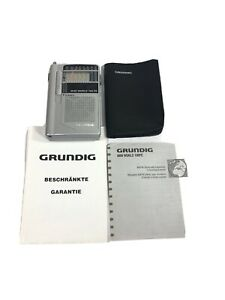 Grundig Mini World 100 PE AM/FM Stereo Short Wave 1-6 Band Radio