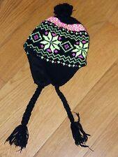 Bonnet Noir et Jaune Fluo