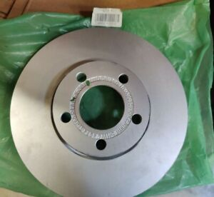 Genuine OEM Audi 4A0-615-301-D Front Brake Disc Rotor 1995-1997 A6 1992-1994 100