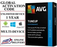 AVG PC TUNE UP 2021 UNLIMITED DEVICES 1 YEAR EU / DE / GLOBAL (EMAIL DOWNLOAD)