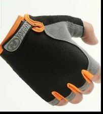 Bike cycling gloves, indoors, outdoors half finger mesh non slip, antiperspirant