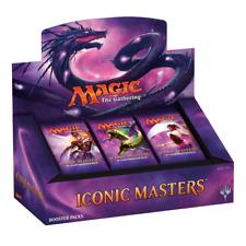 Magic The Gathering Iconic Masters Booster Box - New & Sealed + Free UK Postage