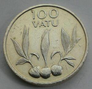 Vanuatu 100 Vatu 1988. KM#9. 100 cents coin. First Year issue. Pound.