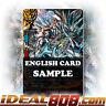 Buddyfight x 4 Fifth Omni Cavalry Dragon, Ice Spear Merak [X-BT03/0021 R (Glossy