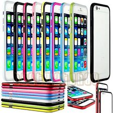 for apple iphone 6 / 6s  bumper case cover black white hot pink blue 4.7 inch