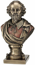 William Shakespeare bust bronze finish home decor statue figure Sculpture NEW