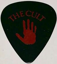 The Cult Billy Duffy Guitar Pick Plectrum Mcfc Concert Used Rare