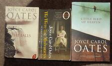 Joyce Carol Oates 3 books Little Bird of Heaven The Falls We Were the Mulvaneys