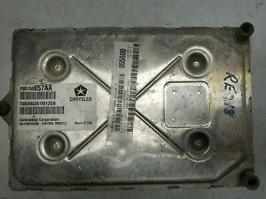 2012 Dodge Grand Caravan Computer Brain Engine Control ECU ECM EBX P05150657AA