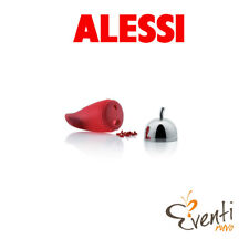 """Alessi - Sminuzza-peperoncino """"Piccantino"""" in gomma siliconica e acciaio JHT02"""