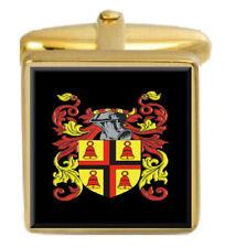 Vans Scotland Family Crest Coat Of Arms Heraldry Cufflinks Box Set Engraved