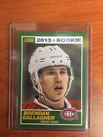 2013/14 Score #9 Brendan Gallagher Canadiens Rookie RC SP SSP Only 1 on EBAY