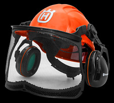 HUSQVARNA CHAINSAW FORESTRY HELMET FOREST FLUORESCENT FUNCTIONAL POLYCARBONATE