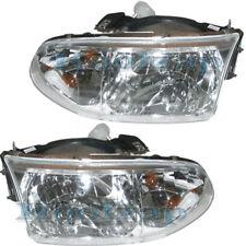 99-02 Villager Headlight Headlamp Front Head Light Lamp Left Right Side SET PAIR