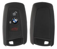 Silicon Case schwarz f BMW 3-Tasten Autoschlüssel Key Case Schlüssel Hülle Cover