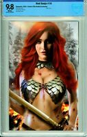 Red Sonja #2 Billy Tan Retailer Incentive Variant - CBCS 9.8!