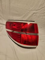 223  2007 2008 2009 2010 Saturn Outlook Tail Light Left (driver Side) outer