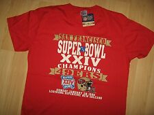 San Francisco 49ers Tee - 1990 Football Superbowl Champions T Shirt w/tags XLrg
