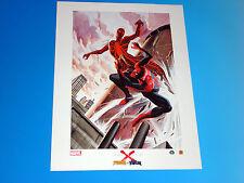 Earth X Spider-Man Vs Venom Lithograph Alex Ross HERO Exclusive Marvel Comics