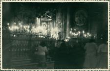 Espagne, Cathédrale de Saragosse (Zaragoza), 1953 Vintage silver print. Spain.