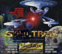 Star Trek Master Series 1 Trading Card Case 10 Boxes
