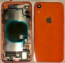 Iphone XS MAX XR OEM Replacement Back Housing Door Rear Frame Small Parts