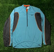 Vintage Nike Acg Mens Dri Fit Cycling Biking Half Zip Jersey Shirt Large