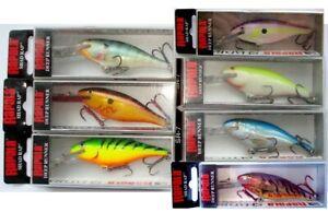 Rapala Shad Rap SR-7 Wobbler, Bait, Predators, Fishing, Perch