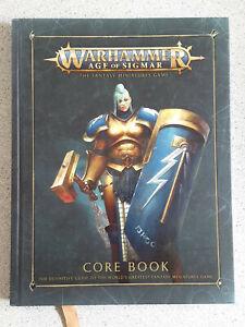 Warhammer Age of Sigmar AOS Core rulebook hardback
