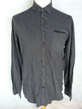 IZAC Chemise Homme Taille 3 - Manches longues - Black Edition