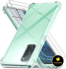 New listing Cober Funda Para De Samsung Galaxy S20 Fe Cubrir y 2 Protector De Pantalla Crist