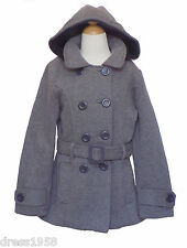 Girls Fall, Winter Dress Coat Jacket, Gray, Size :X- Small (4) 4 years
