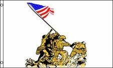 """Iwo Jima"" flag 3x5 ft military-New"
