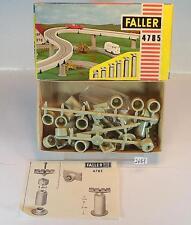 Faller H0 4785 Pfeilersatz, 1-spurig OVP #2685