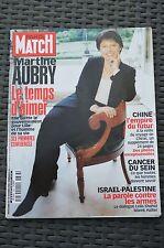 REVUE PARIS MATCH N°2683/2000 DOSSIER MODE LUXE /CALLAS ONASSIS /CHINE DOSSIER