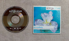 "CD AUDIO MUSIQUE / SONG I LOVE"" CD MAXI-SINGLE PROMO 4T 2003 SAMPCD 12978"