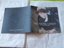 NOLWENN LEROY - BRETONNE  !!!!! RARE  PROMO PRESS/PACK + CD !!!