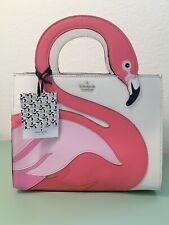 Kate Spade By The Pool Flamingo Sam Satchel Crossbody 25th Anniversary PWRU8941