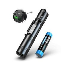 WUBEN 1200 Lumens LED Flashlight USB Rechargeable (18650 Battery Included) IP...