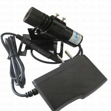 Focusable Industrial 650nm 100mW Red Laser Line Locator Module +Adapter +Holder