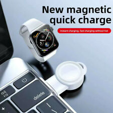 For Apple Watch Series 5/4/3/2/1 Portable USB Wireless Magnetic Charger Keychain