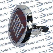 Fiat Bravo 2007> Pulsante Baule Posteriore Fregio Logo Badge Rosso Fiat 95mm