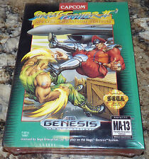 SEGA GENESIS  -  STREET FIGHTER II 2 Special Championship Edition NEW Sealed!