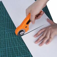 USA Rotary Cutter with 45mm Blades Sewing Quilters Fabric Cutting Leather Craft